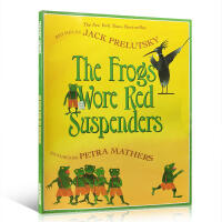 (��S包�])英文原版�L本The Frogs Wore Red Suspenders 穿�t色吊�а�的青蛙 �H子互��W���