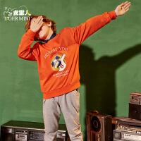 【2件5折】小虎宝儿旗舰店儿童运动套装男童纯棉两件套 春秋装 2019新款韩版