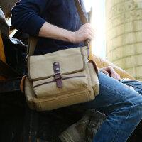 复古男士包包单肩包斜挎包 户外运动休闲男包帆布跨包