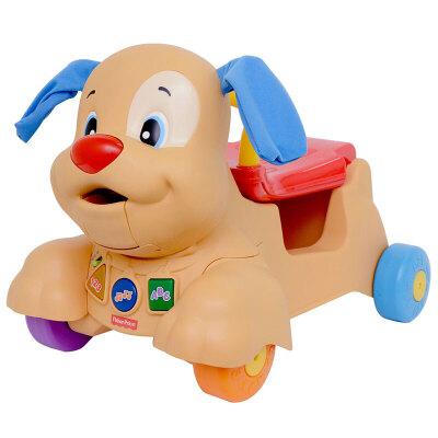 [当当自营]Fisher Price 费雪 多功能小狗皮皮踏行车 双语 婴儿玩具 BCT93【当当自营】适合6个月以上婴幼儿 欢乐学习系列 一车多用 双语学习