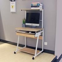 20190402230830187简约台式电脑桌 小型电脑台式桌 家用书桌一体机小办公桌子带书架