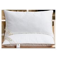 桑蚕丝枕头枕芯全棉单人舒适枕安睡枕颈椎枕头芯家用枕头