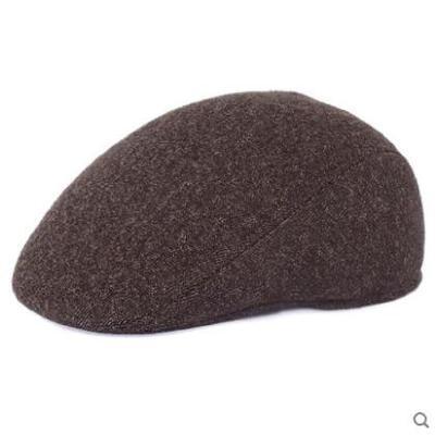 男士帽子户外运动鸭舌帽冬天中老年保暖前进帽大号定做