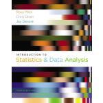 【预订】Introduction to Statistics and Data Analysis