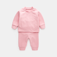 宝宝装套装新生儿衣服季小童保暖内衣两件套初生婴幼儿居家服
