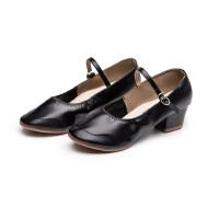 中老年软底高跟女鞋 成人四季跳舞鞋 中跟女广场舞鞋子 女士舞蹈鞋