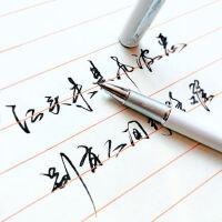 毕加索钢笔916成人练字书法笔美工弯头弯尖学生用男女签字专用速写硬笔商务女生女式*艺术字书写高档定制