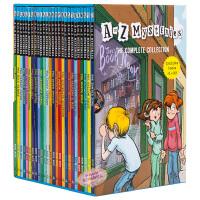 【中商原版】A to Z Mysteries 神秘案件全套26册盒装 神秘事件 英文原版 初级章节书 儿童经典侦探推理小