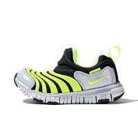【到手价:281.4元】耐克(Nike)童鞋 毛毛虫儿童鞋 舒适运动休闲鞋CI1185-081 黑/荧光黄/白金色/金