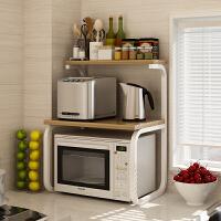 家用厨房微波炉架厨房置物架用品3层微波炉架收纳储物调料架落地双层电饭煲烤箱架