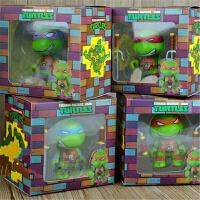 Q版忍者神龟公仔手办模型玩具 汽车载摆件饰品 Q版忍者神龟 全4款 可车载