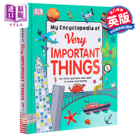 【中商原版】那些重要的事 英文原版 My Encyclopedia of Very Important Things 儿童百科 英文版 英文原版书 DK children