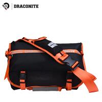 【支持礼品卡支付】DRACONITE男士单肩背包方款大容量电脑尼龙户外骑行斜挎包潮12138