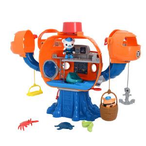 费雪 海底小纵队欢乐章鱼堡角色扮演发声 益智玩具巴克队长T7016