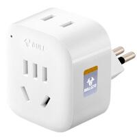 公牛意大利标转换插头充电插头转换器BULL/公牛 GN-L01T
