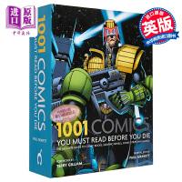 【中商原版】1001本漫画 死前必看系列 英文原版 1001 Comics You Must Read Before You Die