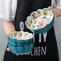 光一 陶瓷日式樱桃小碗单个装家用创意个性可爱的萌水果沙拉饭碗餐具