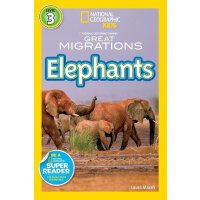 National Geographic Readers: Great Migrations Elephants 《国家