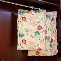 百易特 2只装悬挂式衣服真空压缩袋加厚衣服羽绒服收纳袋 60*90cm抽气棉被子衣物收纳袋