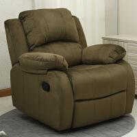 欧式沙发单人麻布艺沙发电动可躺美甲美睫沙发电脑沙发