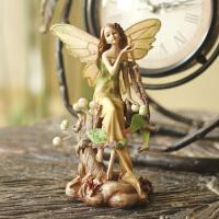 欧式田园家居装饰品工艺品结婚礼物婚房新房摆设 森林天使摆件