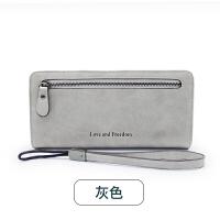 女士手拿钱包女长款新款韩版潮个性小清新学生拉链多功能皮夹