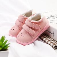 季男童棉鞋小童保暖鞋子儿童皮鞋女宝宝学步鞋软底 1-3岁短靴子