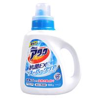 花王(KAO) 日本进口洁霸洗衣液高活性生物酵素酶去污衣物清洗剂 草本清香 瓶装900g