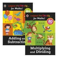 瓢虫入学数学系列2册Ladybird I'm Ready for Maths乘除法&加减法