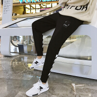 九分裤男潮青少年修身束脚裤男士运动裤子韩版休闲裤青年哈伦长裤YC-853