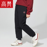 【限时抢购价:156.9元】高梵童装新款儿童轻芯羽绒裤女童男童宝宝卫裤版型品牌正品