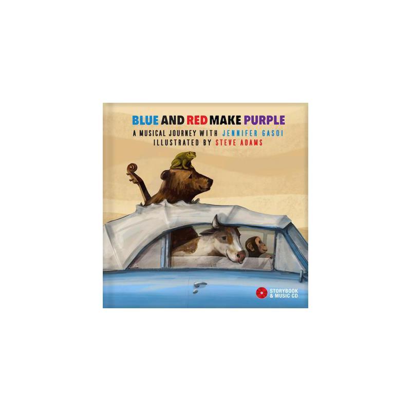 【预订】Blue and Red Make Purple: A Musical Journey with Jennifer Gasoi [With Audio CD] 预订商品,需要1-3个月发货,非质量问题不接受退换货。