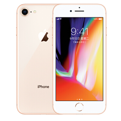 Apple iPhone 8 (A1863)  64G 金色 支持移动联通电信4G手机可使用礼品卡支付 国行正品 全国联保
