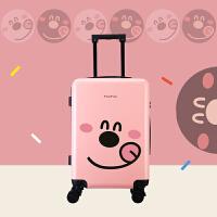 2017新款韩版大学生小清新拉杆箱20寸旅行箱登机箱24寸轻便行李箱