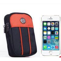 男女腰包 穿皮带男户外贴身旅游包 运动手机包4寸腰包 迷你小挂包卡包零钱包女