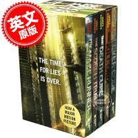 现货 移动迷宫新版5本全集全套套装 英文原版 The Maze Runner Series Complete Colle