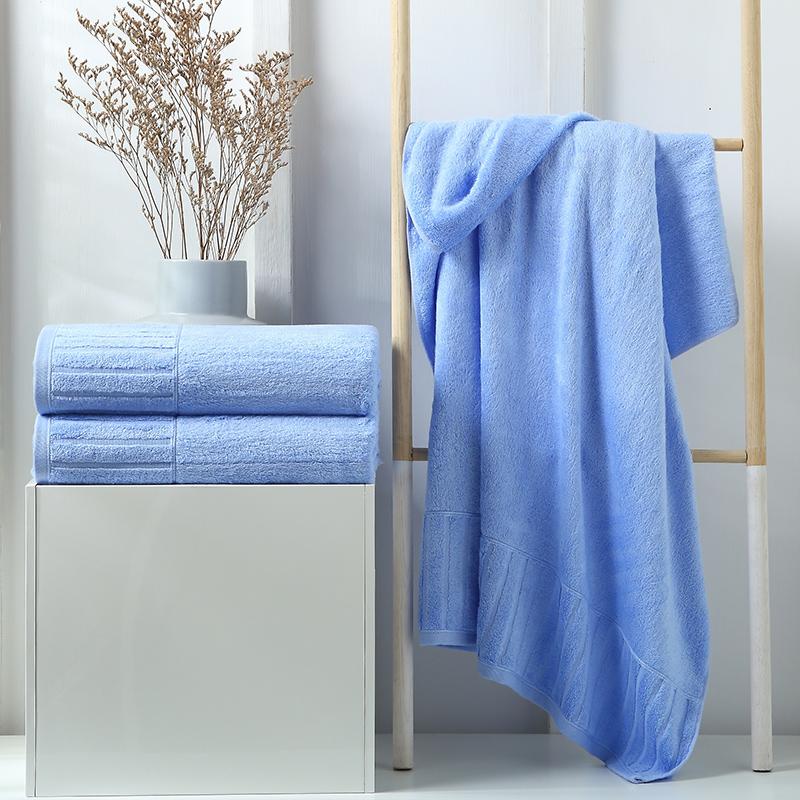 君别竹纤维浴巾家用比吸水女婴儿儿童柔软加厚大男洗澡裹巾