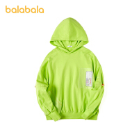 【3件4折:75.6】巴拉巴拉�和�套�^�l衣男童2020新款秋季中大童上衣潮酷�r尚�n版男