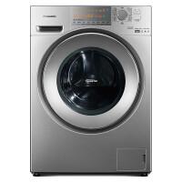 松下(Panasonic) XQG90-EG925 9公斤 变频 冷凝式烘干 双极除螨 95℃高温除菌洗烘一体(深银色