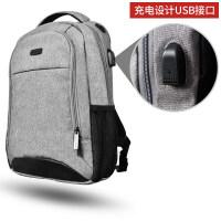 双肩包笔记本电脑包15.6英寸背包14华硕15戴尔17苹果mac神舟雷神华为小米游戏本thinkpa