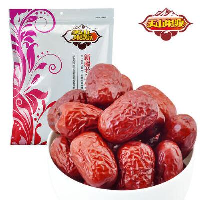 天山果源 新疆若羌小甜枣500g 新疆特产 粒粒精选 果肉饱满 核小肉厚