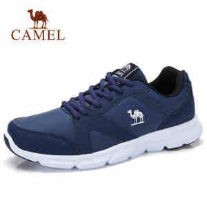 camel骆驼男鞋青少年韩版学生 潮鞋运动轻便慢跑休闲秋冬季防水跑步鞋