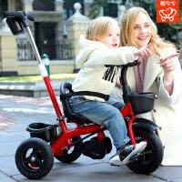婴幼儿童三轮车1-3岁脚踏车手推车宝宝自行车小孩2-6岁童车大号