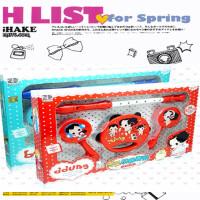 初学乐器幼儿童乐器套装四件套口笛铃鼓沙锤组合 宝宝玩具0-1-3岁
