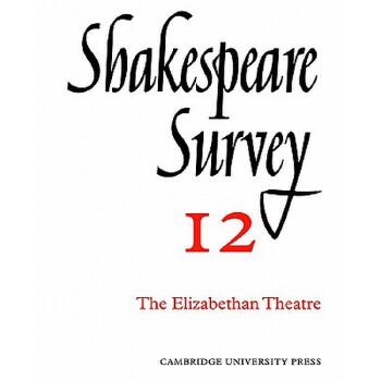 【预订】Shakespeare Survey 9780521523486 美国库房发货,通常付款后3-5周到货!