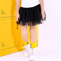 【2件5.5折到手价:49】小猪班纳女童短裙夏季2019新款儿童洋气公主裙纱裙潮