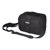 相机包佳能EOS80D6D7D750D5D4单反800D6D2原装单肩便携摄影包77D 黑色防盗拉链(含防雨罩)