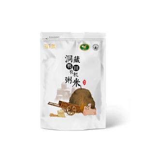 【辉南馆】东北新米粥米宝宝米胚芽米碎米洞藏鸭田有机稻花香大米养生粥1.5kg