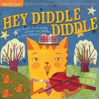 【现货】英文原版 Indestructibles: Hey Diddle Diddle 稀奇 真稀奇 婴儿无毒可咬绘本
