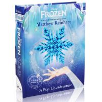 现货 冰雪奇缘 英文原版 Frozen: A Pop-Up Adventure 立体书